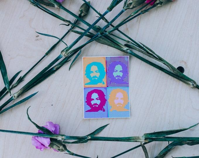 PopArt Charles Manson Sticker