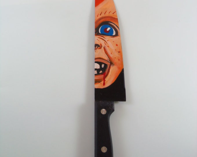 Chucky - Hand Painted Knife