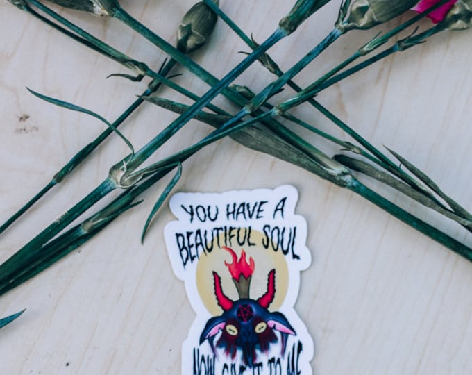 You Have a Beautiful Soul Sticker