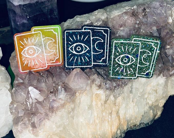 Tarot Card Resin Magnets
