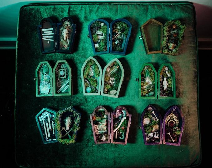 Collectible Creepsake Coffin Box