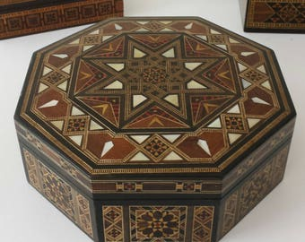 Wooden Jewelry Box / Multipurpose Storage Wooden Box - Home Decor
