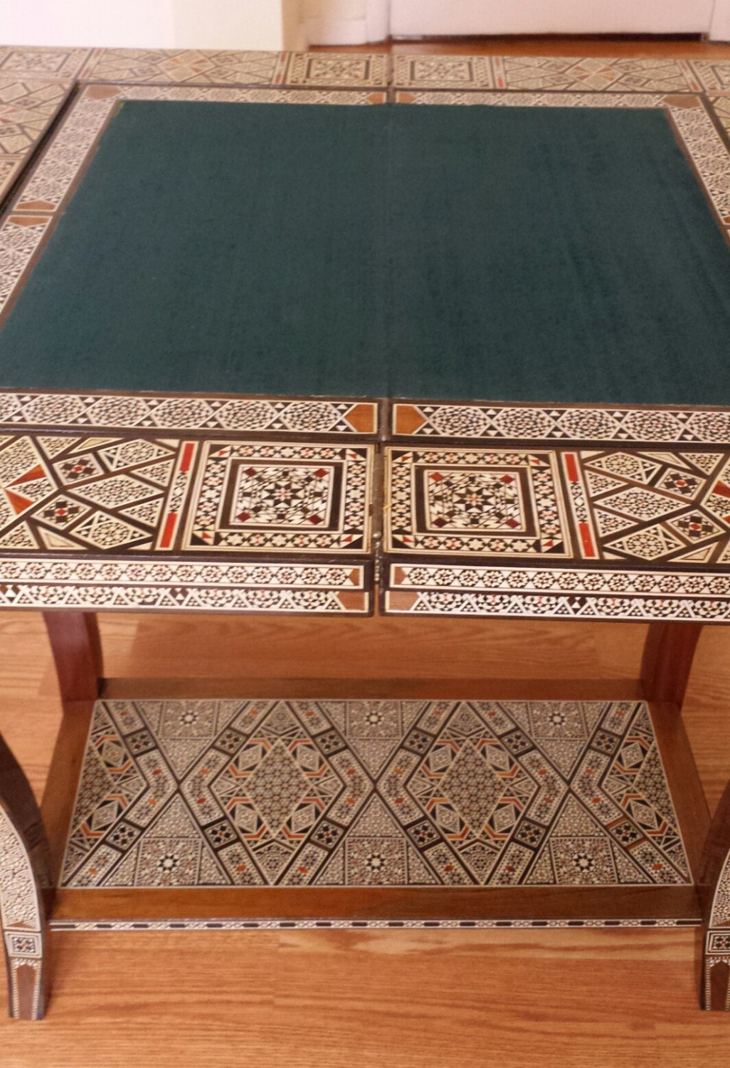 Side Table Poker Table Game Table Card Table Vintage
