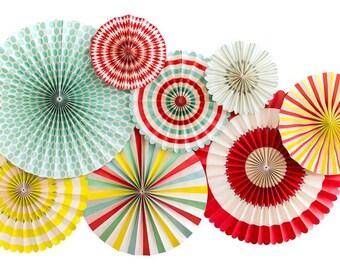 Carnival Theme Party, Carnival Decor, Circus Birthday,Carnival Paper Fans,Circus Party,Party Fans,Carnival Decorations,Circus,Party Circus,