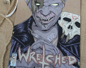 The Wretched Issue 1 Comic book