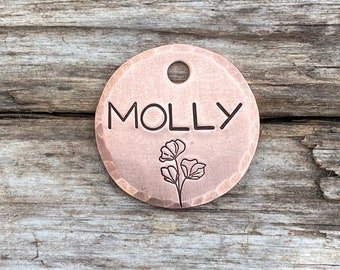 Pet Tag, Dog Tag Personalized, Sweet Pea, Dog Tags for Dogs, Dog Tags, Pet Id Tag, Custom Dog Tag, Puppy Tag