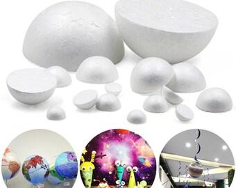 30mm Styrofoam Ball Polystyrene Poly Ball Modelling Sphere Decoration 50 Balls