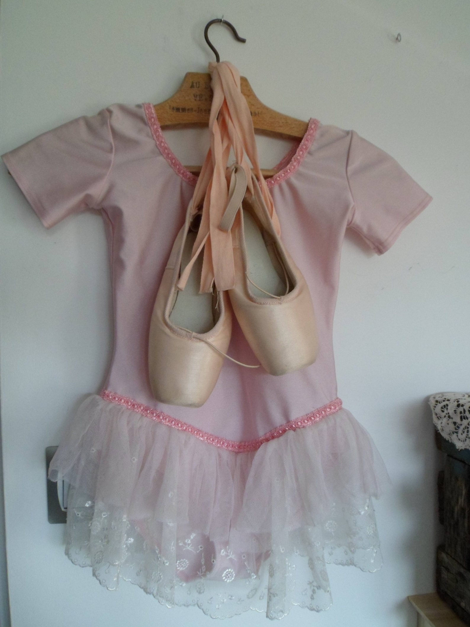 ballet shoe dance and her leotard, romantic decor, point dance, pair of shoe, classic ballet slipper sylphid