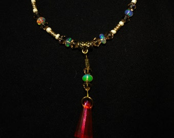 Precious Opal Swarovski Bracelet Boho Island Inspired