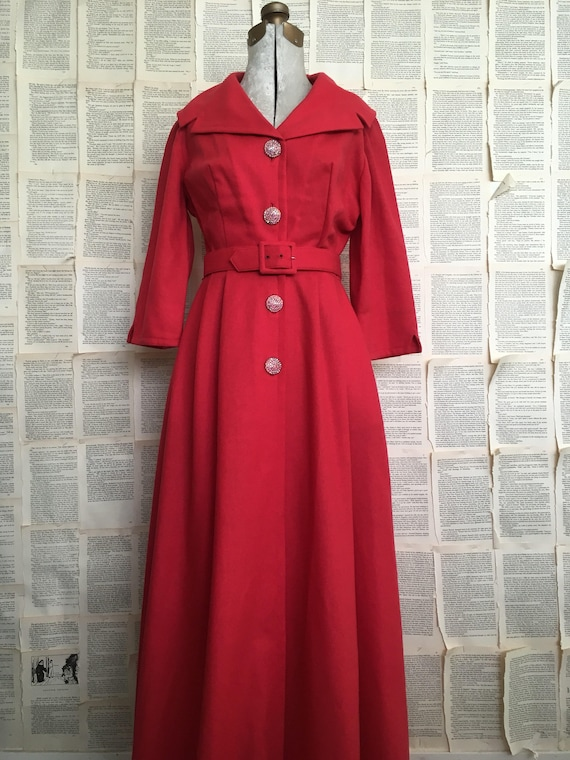 Vinatge I.Magnin & Co. Hostess Dress