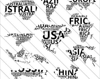 World map silhouette etsy studio world map silhouettes svg map clipart map silhouettes world map svg cut filedxfpng use with silhoutte studio cricut instant download gumiabroncs Gallery