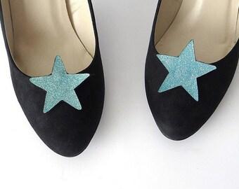 bb5df9b67 Clips zapatos estrella azul