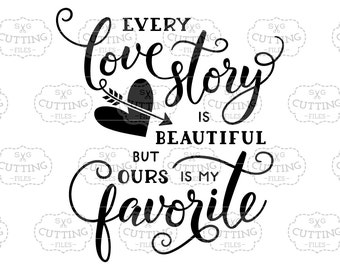 Svg Uk Spelling Every Love Story Is Beautiful But Ours Is My Etsy