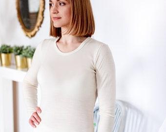 Merino wool long sleeves T-Shirt