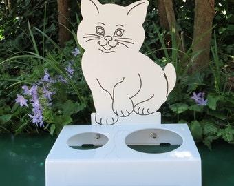 Cat Bowl-Kitty door P