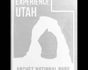 Arches National Park Utah - Sticker