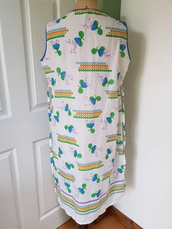 Vintage unworn 1970s lightweight cotton mix sleev… - image 4