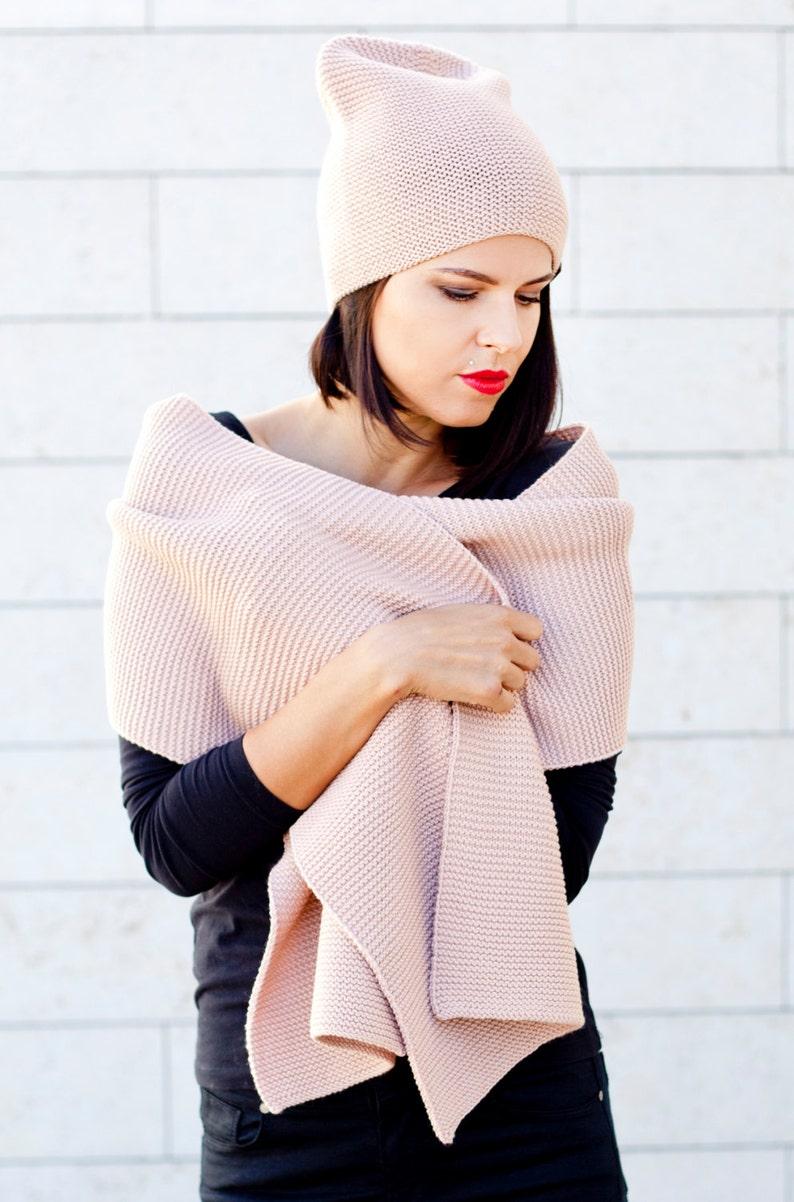 29fa1bc1b10 Merino wool scarf   merino wool hat   merino wool cap   winter