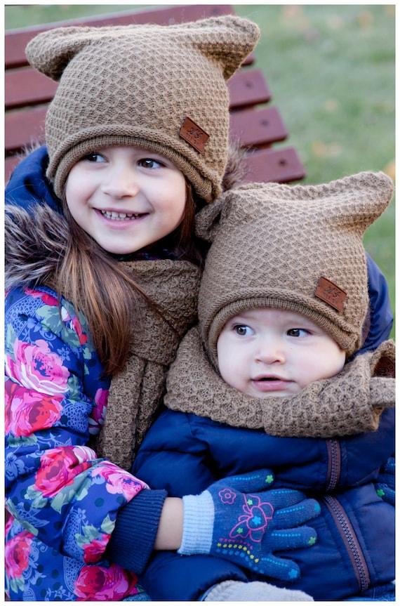 38ede3f44fc Alpaca wool set for kids  alpaca scarf   alpaca hat   alpaca