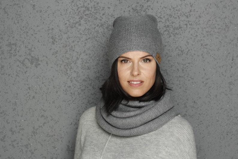 8680b869ab3 Merino wool snood   merino wool hat   merino wool cap   winter