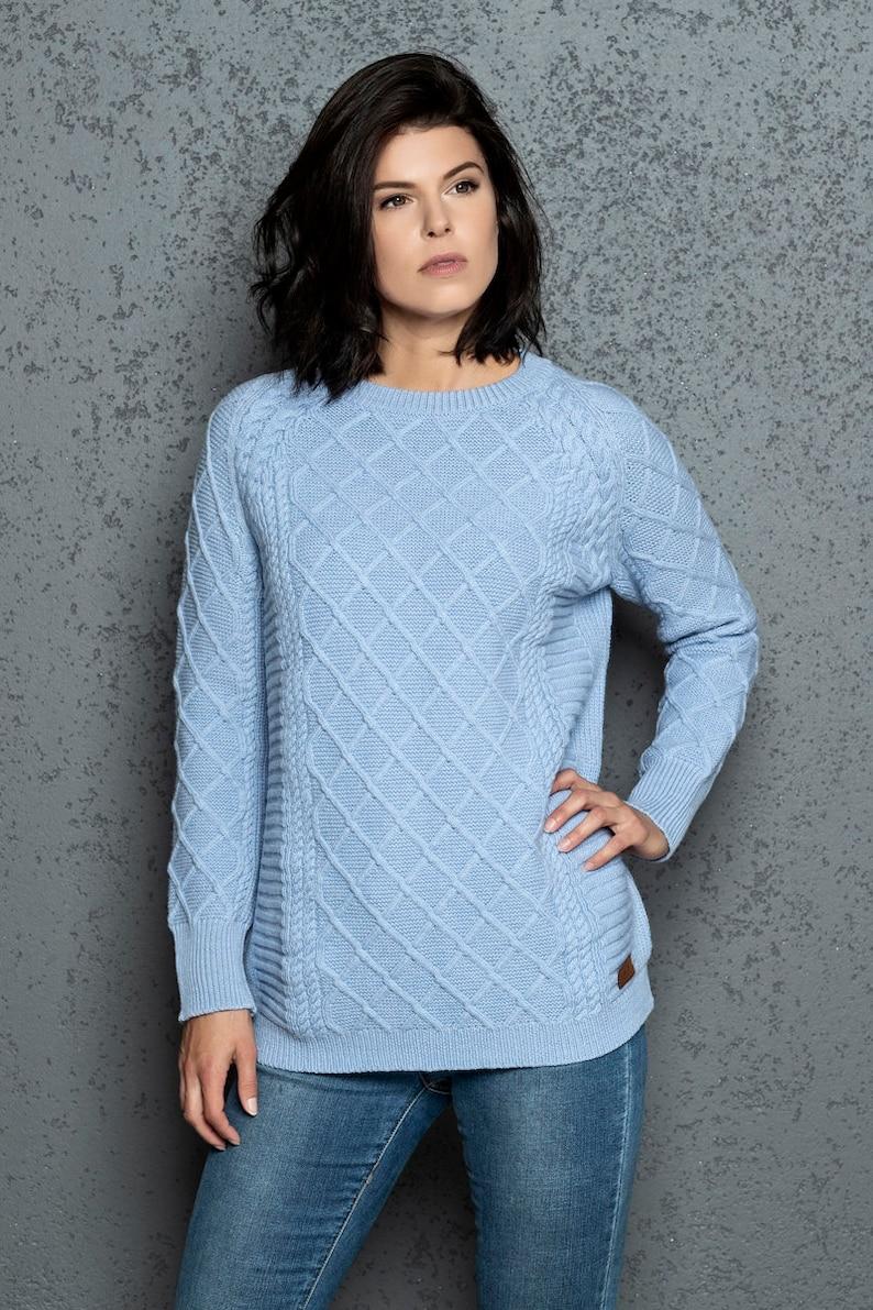e420a4102bae Alpaca sweater   Oversized sweater   Knitted wool sweater