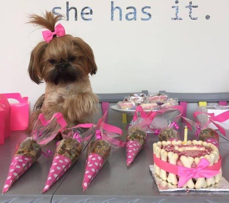 Excellent Dog Birthday Cake Dog Cake Freshly Baked Natural Organic Etsy Personalised Birthday Cards Sponlily Jamesorg