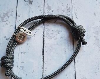 Adjustable Shackle Bear Grylls Inspired Paracord Survival Bracelet