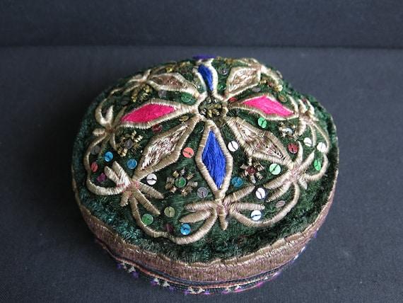 Tribal Tajik Lakai tribal skullcap