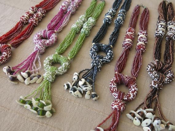 Vintage beaded Turkish necklace