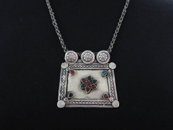 Silver Kuchi pendant