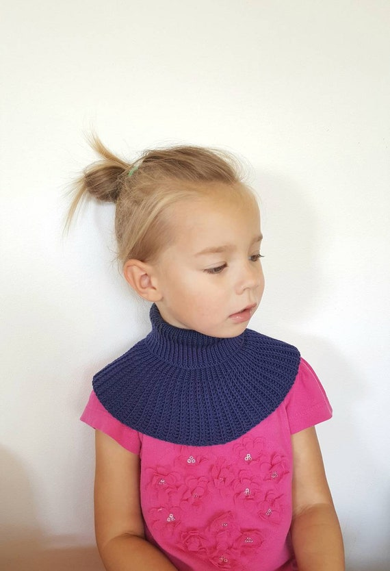 Cool Kid Scarf Colors Stitching O-ring Knit Woolen Baby Lovely Scarf Neck Warmer