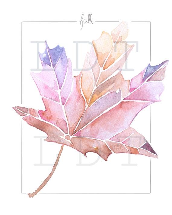 Fall printable art, Digital Download JPG Image