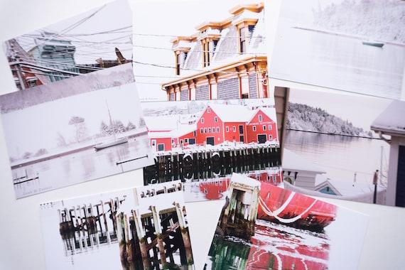 Postcard set, Lunenburg, Nova Scotia
