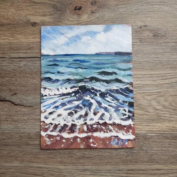 Original Art, Acrylic Painting, Landscape