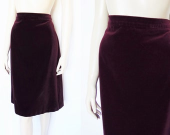 cbb137e4188 Red velvet skirt