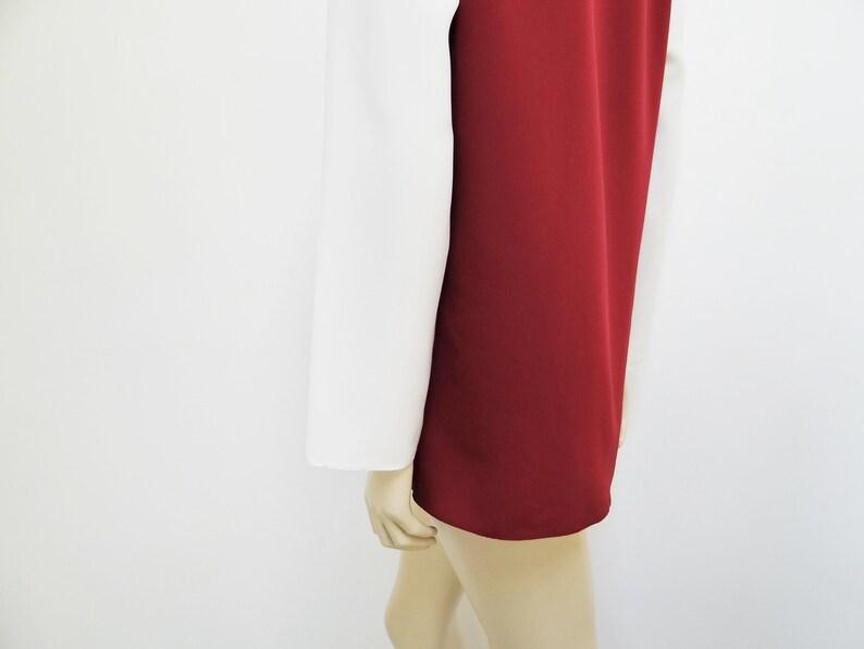 Vintage 1980/'s Blouse Size 10 Vintage Clothing UK10 Boho Ladies Blouse Arty Blouse Statement Blouse Ladies Shirt Tomboy Vintage,