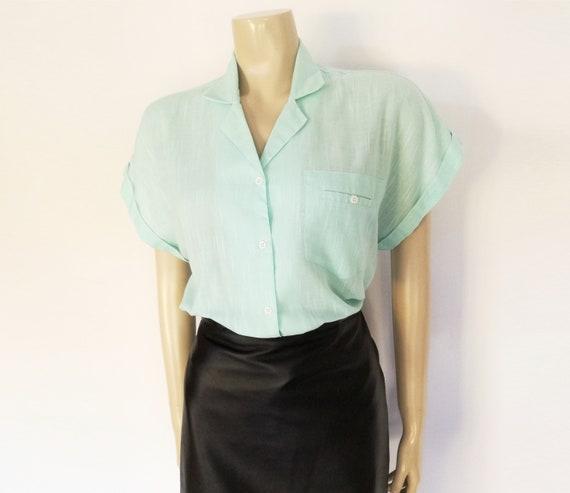 3219da311b85f3 Ladies Tomboy Shirt Size 14 Women s Vintage Work Shirts