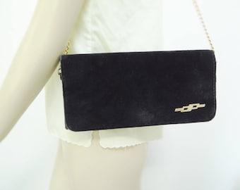 Black Purse, Handbag, 1980s, Handbags, Vintage Handbags, Disco, Bags, Black Purses, Vintage Purse, Velveteen Bag, Gold Chain Bag