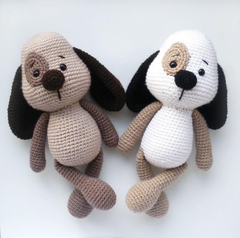 c3cb6a05fe0c Hund Stofftier Hund Amigurumi Hund Stofftier Hund Plüsch Hund