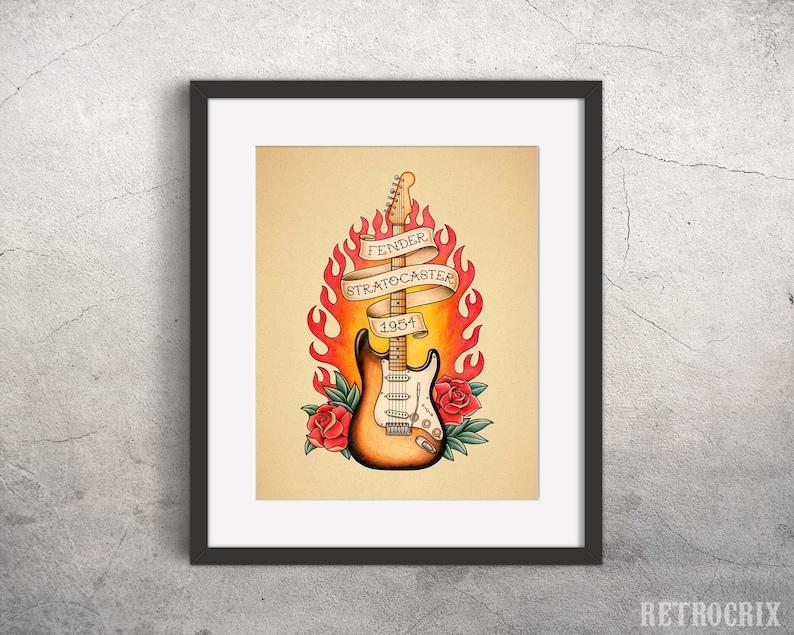 Datierung mexikanischer Stratocaster
