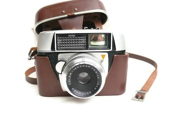 Franka Frankamatic-Lux 35 mm Film Camera, Vintage Camera, Viewfinder Camera, Automatic Exposures, Prontor-Lux shutter, 1960s Camera