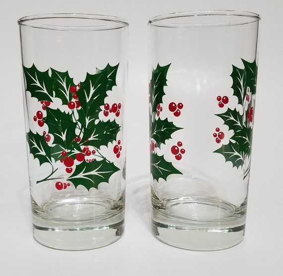 Vintage Texas A/&M Aggies Frosted Water Glass A /& M Gig /'Em