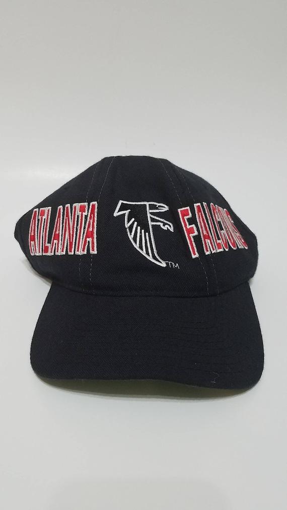 Vintage 90s Kids Womens Atlanta Falcons NFL Stater Brand Black  21e1f4ce71