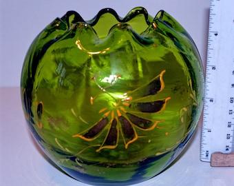 Art Deco Blown Glass Bowl