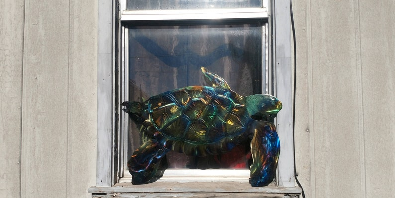 Advertising The Cheapest Price Two Turtles Plasma Cut Metal Sign Year-End Bargain Sale