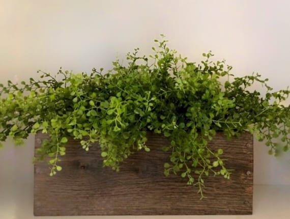 Farmhouse Greenery Planter Box
