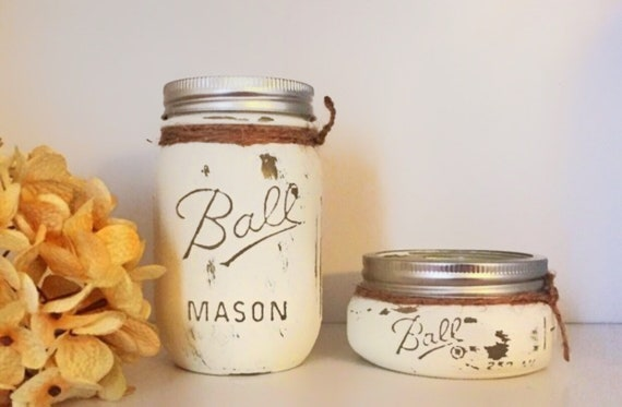 Mason Jar Desk Set