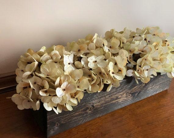Wood Box Centerpiece, Decorative Planter Box, Various Sizes