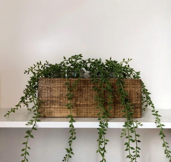 Farmhouse Greenery Centerpiece