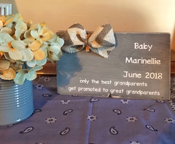 Only The Best Grandparents Get Promoted to Great Grandparents Pregnancy Announcement Frame
